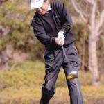 ナイスショット!!ゴルフをよくやりました